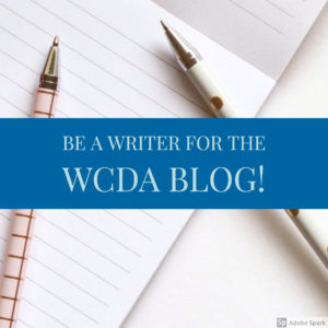Submit a Blog Article! – WCDA Blog